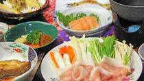 ■【夕食一例単品】 美豚しゃぶしゃぶ④