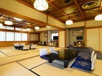 【もみじ山荘】3間続きで大人数向けの広々和室です。