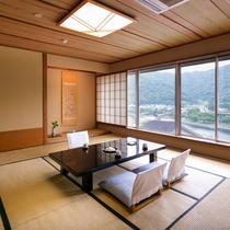 【錦川側◆和洋室 8~12.5畳+ツイン】[和室]