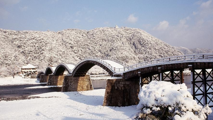 錦帯橋 冬