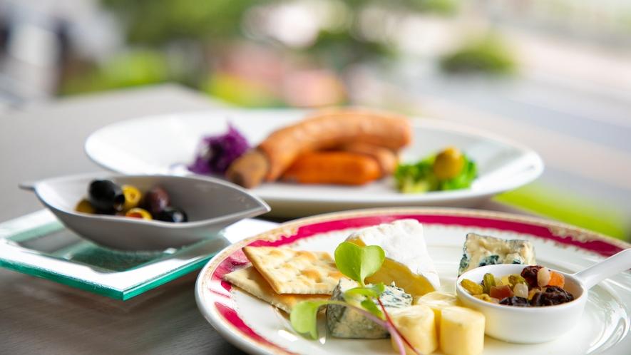 【朝食】[一例]  ※現在個食タイプでご提供いたしております