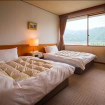 【錦川側◆和洋室 8~12.5畳+ツイン】[ベッドルーム]
