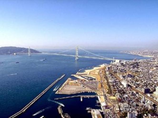 明石海峡大橋(昼)①
