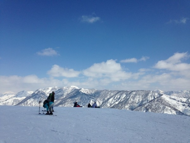 奥只見丸山スキー場頂上