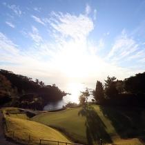 ゴルフコース眺望