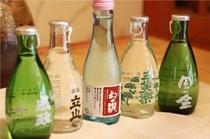 富山の食材には地酒が相性抜群
