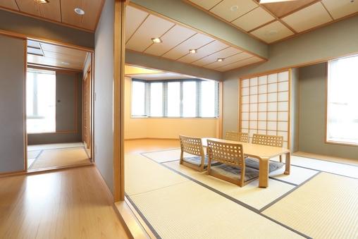 【禁煙】和室 (52平米/ 布団)