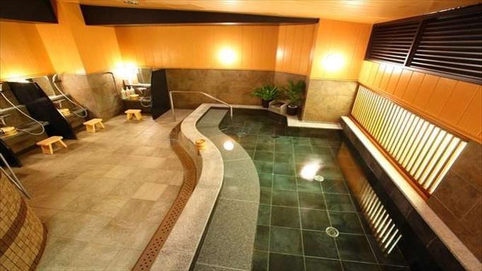 大浴場でゆったり朝食ビュッフェ付プラン<黒崎駅徒歩2分>