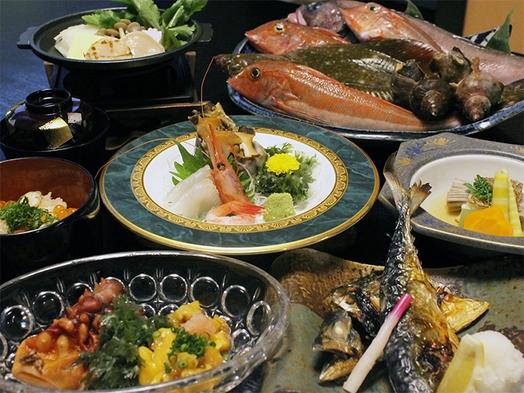 【夕食付】【和食】旬のお魚親方お任せ御膳付きプラン