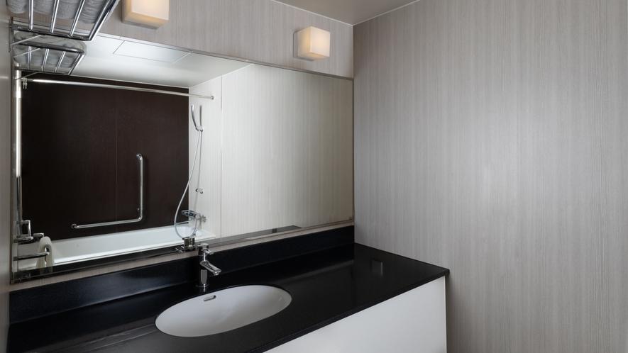 バスルームの一例(バストイレ一体型)