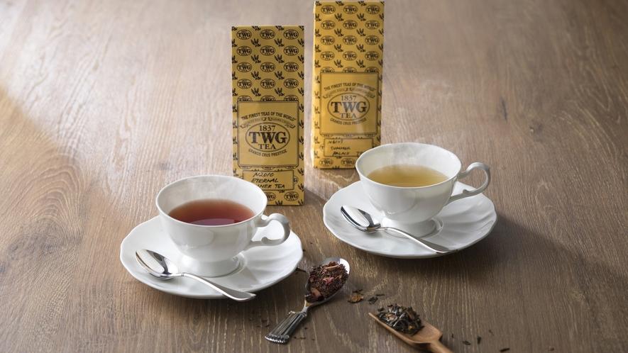 バンブーでは世界屈指のラグジュアリーティーブランド「TWG Tea」の紅茶を提供しています