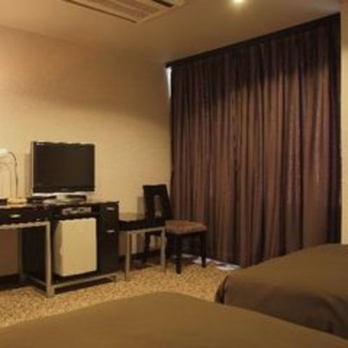 ◆デラックスツインルーム(客室一例) ※ご予約はお電話にてお問合せ下さい。