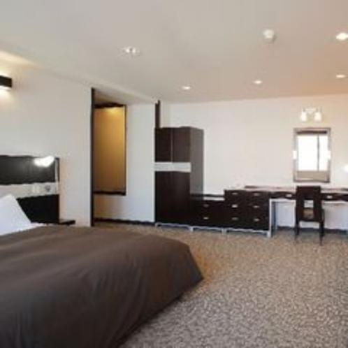 ◆温泉付き特別室ダブルルーム(客室一例) ※ご予約はお電話にてお問合せ下さい。