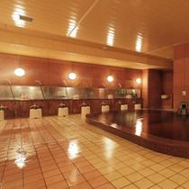 温泉大浴場全景