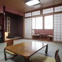 和室(12畳)1~6名様 ご予約はお電話にてお問合せください