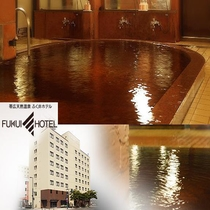 天然モール温泉大浴場