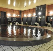 北海道遺産に選定されたモール温泉の泉質をお楽しみください。