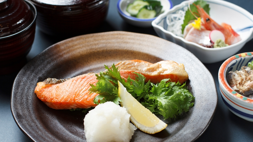◆6種から選べる夕食「焼魚定食」(イメージ)