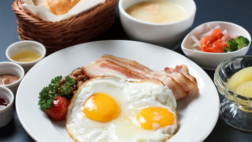 ◆4種から選べる朝食「洋定食」(イメージ)