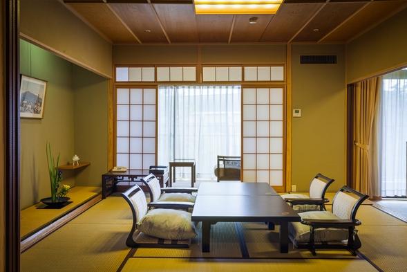 ★お部屋は人気の和洋室♪夕食は和食会席料理をご堪能