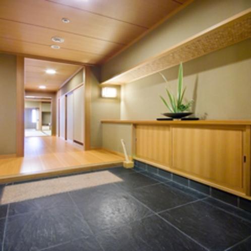 12畳+5畳【2間続き】和室の広々とした入口