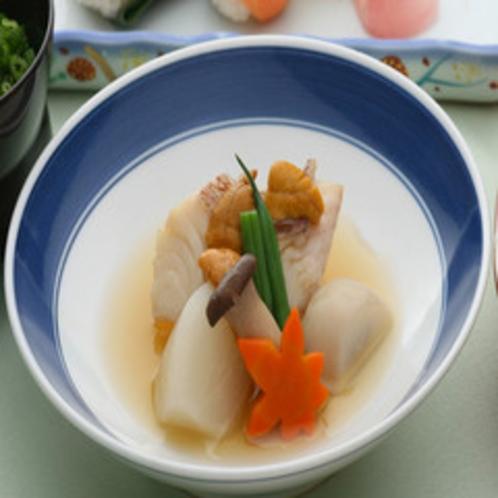 瀬戸内の魚と野菜の焚き合せ