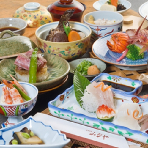 素材の味を大切にする和食