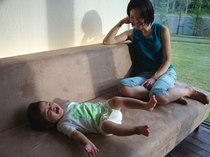 コテージでのんびり。ママも赤ちゃんも楽しい!