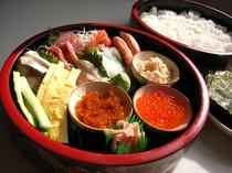 手巻き寿司セット(1,500円/1人前)