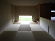 4~5名様用デラックスコテージ「ラピス」の寝室(畳スペース)