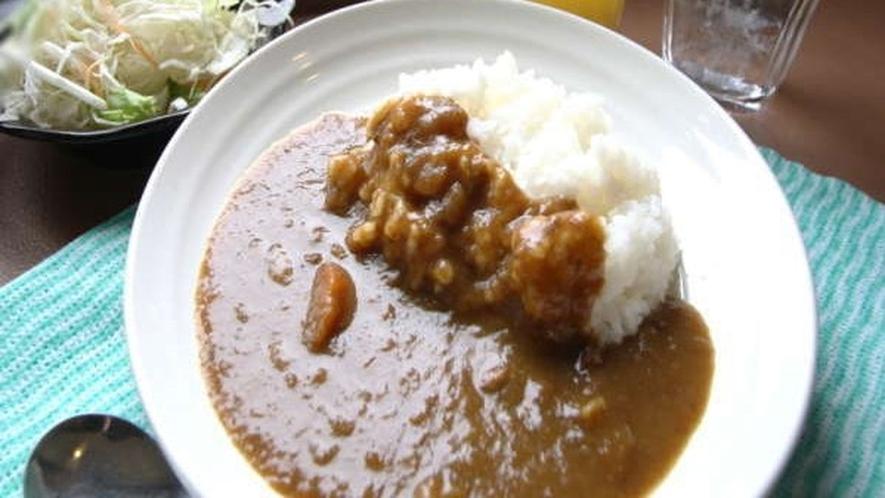 【朝食・カレー】
