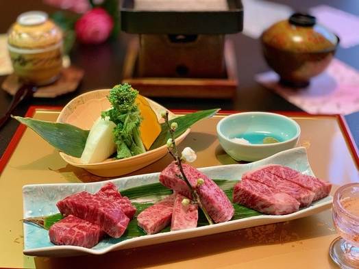 【A4ランク以上】岡山ブランド牛☆なぎビーフ食べ比べ懐石プラン♪