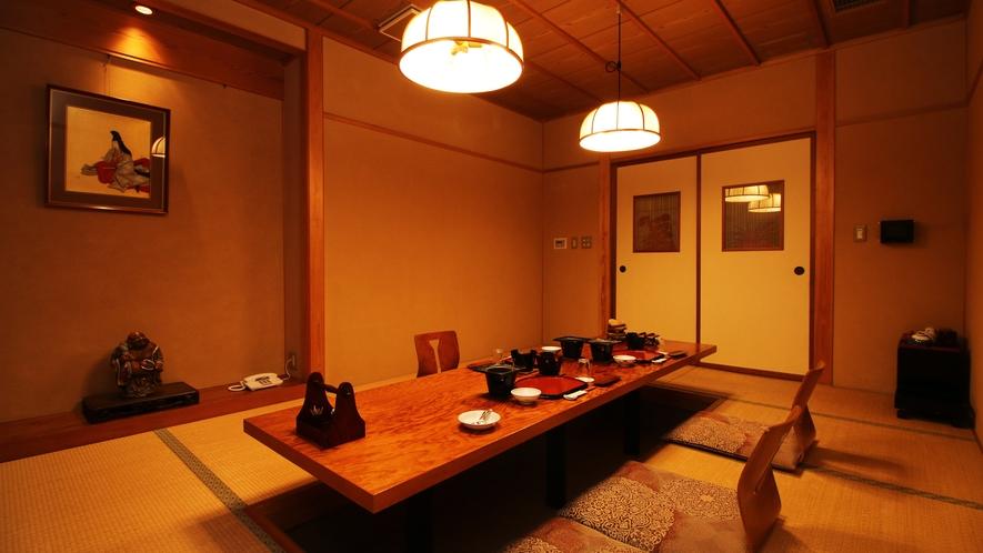 ■個室/お食事は個室で。のんびりゆったり気兼ねなくお料理をご堪能下さい。