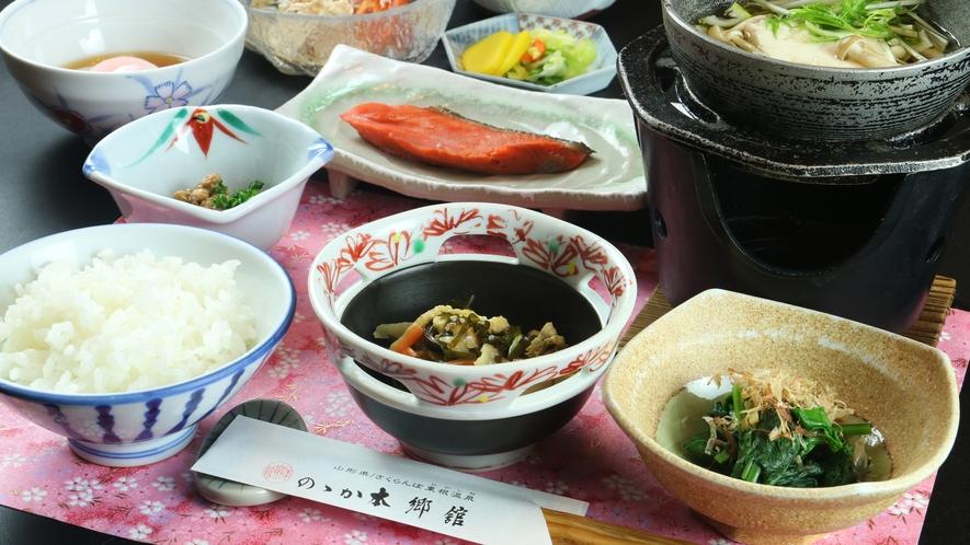 ■【朝食】美味しい和朝食で一日をはじまりを。