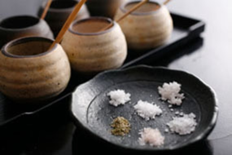 6種類の塩(イメージ)