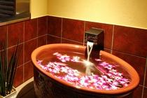 「光悦蝶」陶器風呂/フラワ-バス半露天風呂付(フラワーバス入り放題)※温泉ではございません
