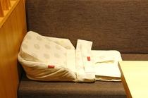 お食事処【TAJIMA】ではベビーベッドをご準備しております。