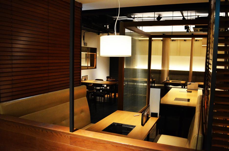 1階レストラン『獅子丸』店内(1)
