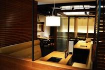 1階レストラン『獅子丸』店内①