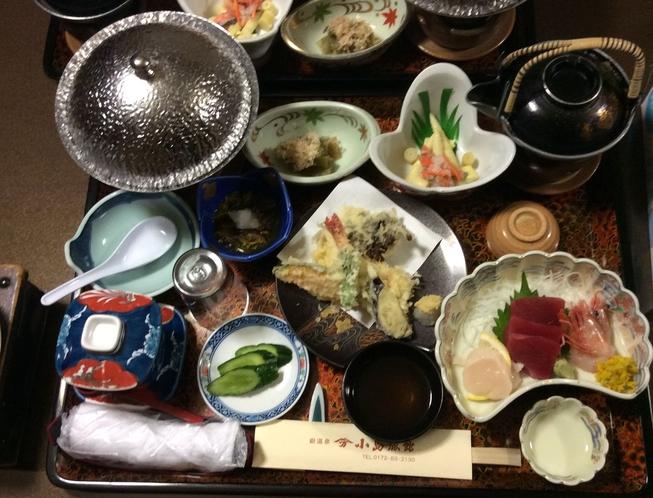 小島旅館・夕食