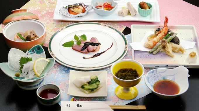【楽天トラベルセール】【貸切温泉付】夕食は旬の日替わり和食膳♪嬉しいお得なプラン♪