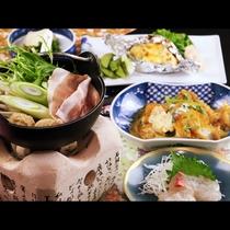 【女将おまかせ】(カツ煮ver)