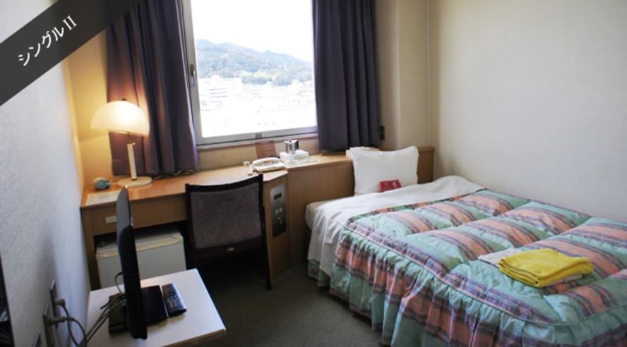 客室:シングルルーム