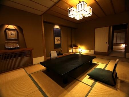 禁煙■スィート和室■最上階二間(10畳+6畳)+ソファー
