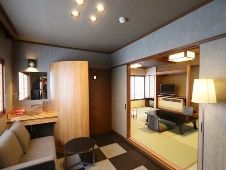 禁煙■デラックス■「すずかぜ」 リビングルーム付 2階客室