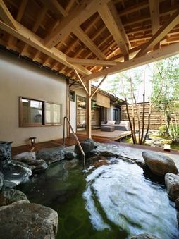 【禁煙】松月〜三州瓦張り・露天風呂付き客室12.5畳+応接室