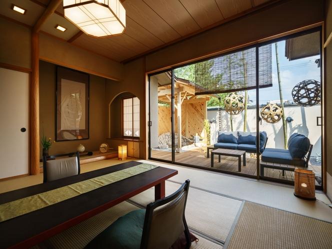 「竹径」露天風呂付客室