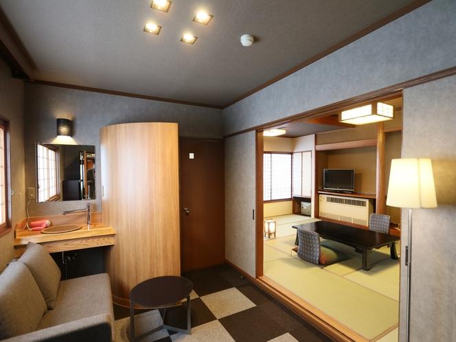 リビングルーム付二階客室「すずかぜ」(2名~4名用)
