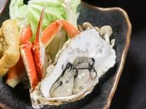 牡蠣&ずわい蟹の旨温か鍋
