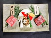 新潟県代表「村上牛」と宮城県出身料理長厳選「仙台牛」